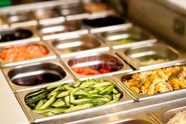 精進料理 食品 外に レストラン ストックフォト © stockyimages
