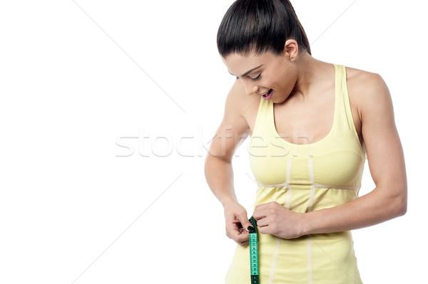 Iyi sonuç kadın Stok fotoğraf © stockyimages