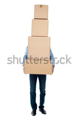 I am overloaded, help me! Stock photo © stockyimages