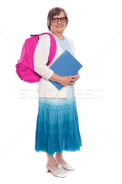 Сток-фото: школы · время · портрет · женщину