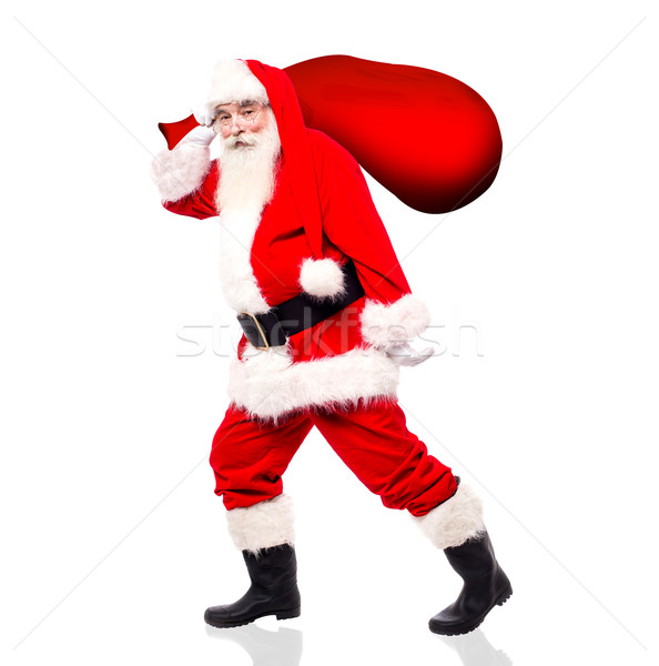 Come with me! I am gonna distribute gifts ! Stock photo © stockyimages