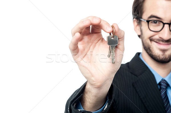 Tale your house keys.  Stock photo © stockyimages