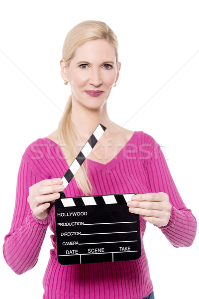 Get ready for the shoot ! Stock photo © stockyimages
