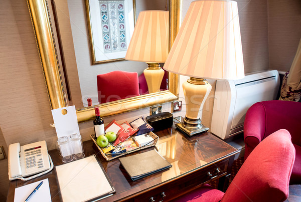 Modern hotel room interior Stock photo © stockyimages