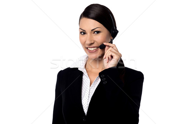 Hi ! May I Help You ? Stock photo © stockyimages