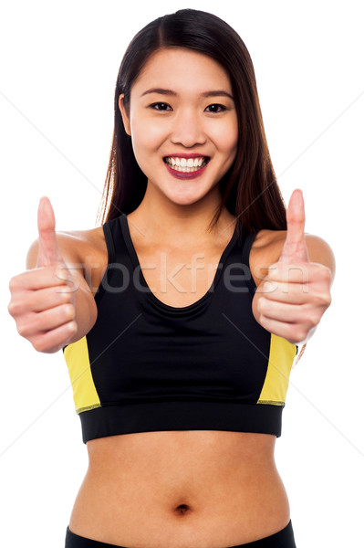 Keep up the good health Stock photo © stockyimages
