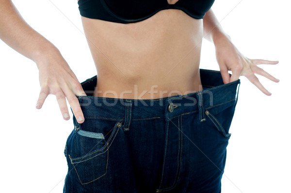 Great! I have lost quite a few pounds Stock photo © stockyimages