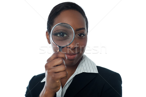 Employee background verification Stock photo © stockyimages