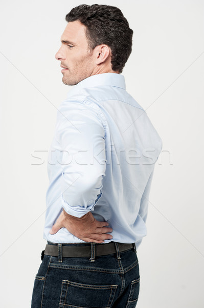 It's aching suddenly ! Stock photo © stockyimages
