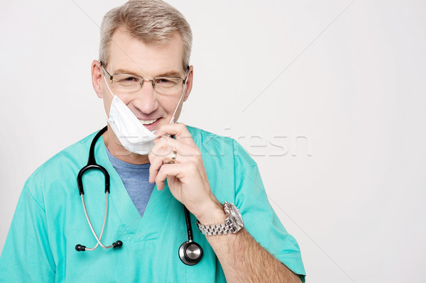 Don't worry, patient is recovering ! Stock photo © stockyimages