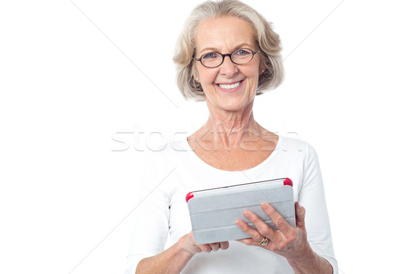 It's my new digital tablet. Stock photo © stockyimages