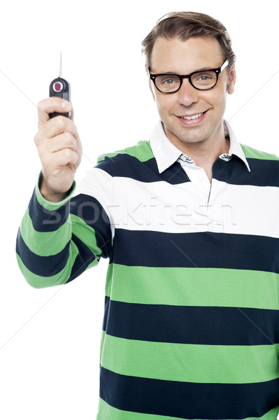 Stock photo: Get ready to test drive new car