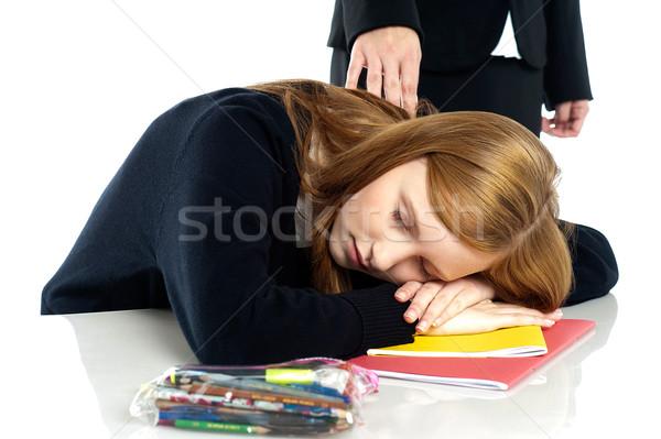 Сток-фото: учитель · вверх · студент