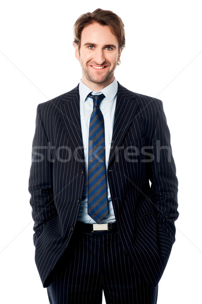 Well dressed male business executive  Stock photo © stockyimages
