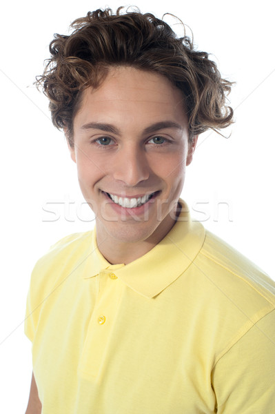 Handsome guy in casuals, close-up shot Stock photo © stockyimages