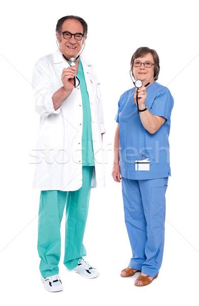 медицинской команда врачи стетоскоп Сток-фото © stockyimages