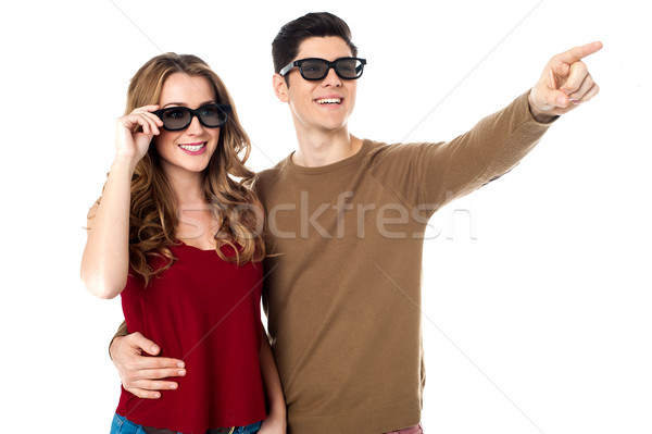 Hey sweetheart, check that out! Stock photo © stockyimages
