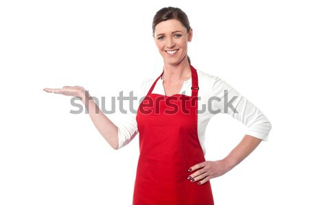 Welcome to our restaurant Stock photo © stockyimages