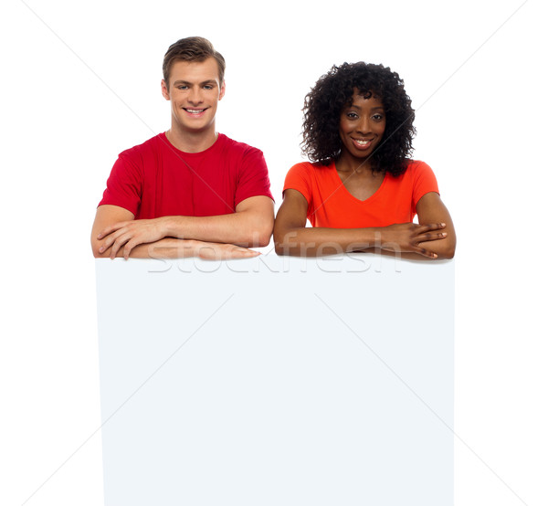 взрослый рекламировать реклама африканских Сток-фото © stockyimages