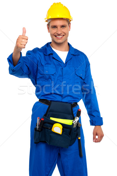 Keep up the good work Stock photo © stockyimages
