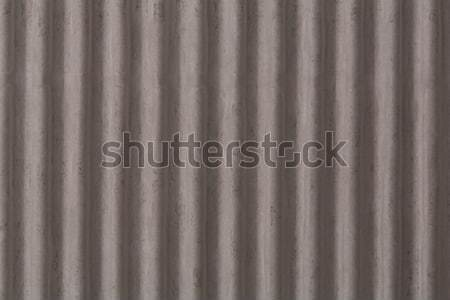 Vertical corrugated roof tile Stock photo © stockyimages