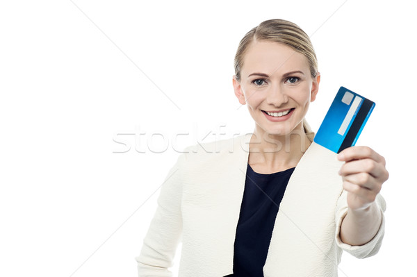Did you get our new credit card ? Stock photo © stockyimages