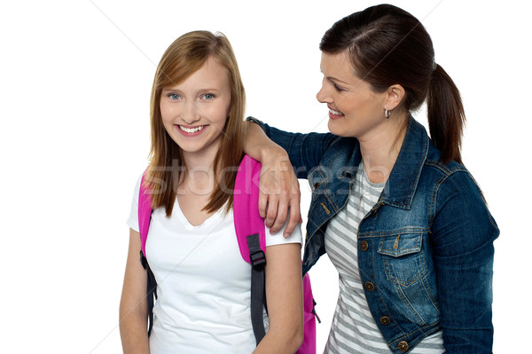 College friends hanging out together Stock photo © stockyimages