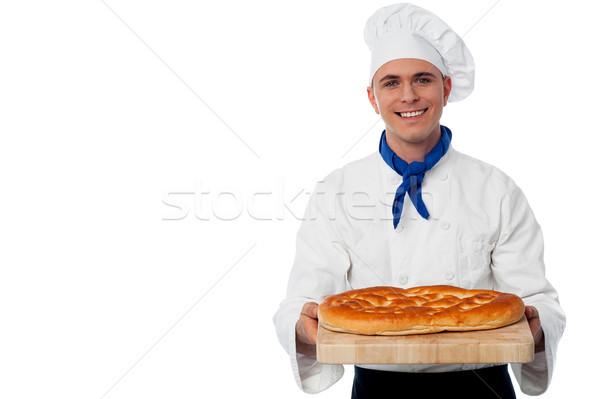 小さな パン ローフ シェフ 新鮮な ストックフォト © stockyimages