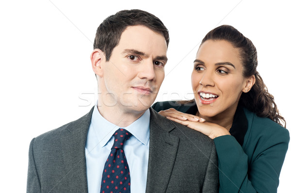 Did you understand, what i said ? Stock photo © stockyimages
