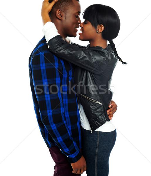 ストックフォト: ロマンチックな · アフリカ · カップル · 愛 · 写真