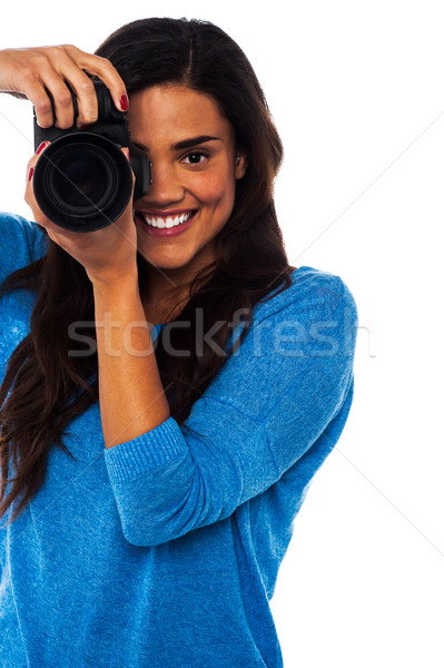 Get ready for a snapshot... Stock photo © stockyimages