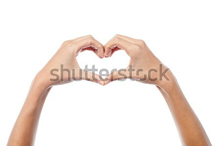 Love concept, heart shape. Stock photo © stockyimages