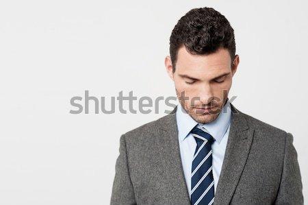 Errore imprenditore testa Foto d'archivio © stockyimages