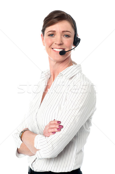 How may I help you today? Stock photo © stockyimages