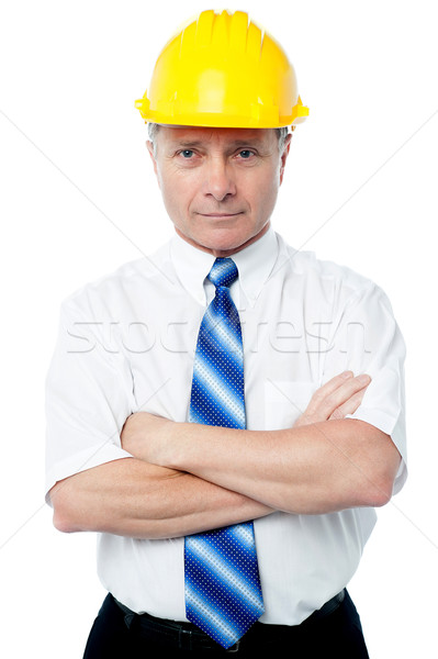 Confident experienced male engineer Stock photo © stockyimages