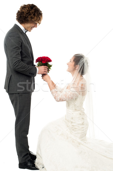 Marry me please, will you? Stock photo © stockyimages
