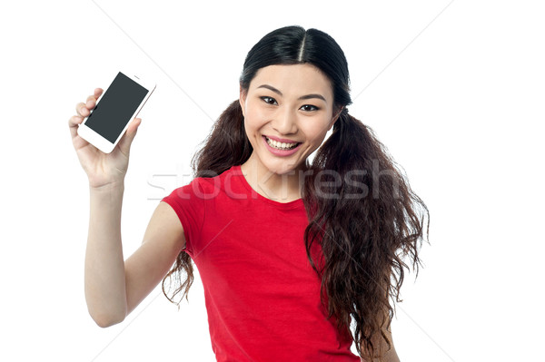 Check out my new cell ohone Stock photo © stockyimages