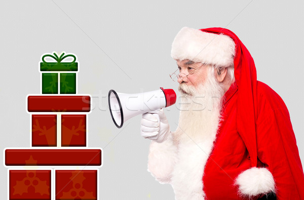 Hey all come and collect your gifts !  Stock photo © stockyimages