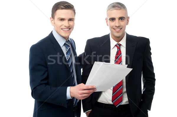 You did a good project plan mate. Stock photo © stockyimages