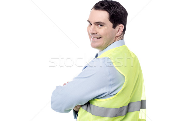 I am supervising here.  Stock photo © stockyimages