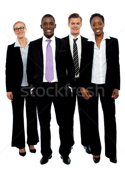 Full length portrait of business colleagues Stock photo © stockyimages