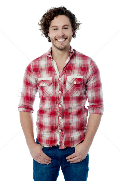 I like to wear casuals. Stock photo © stockyimages
