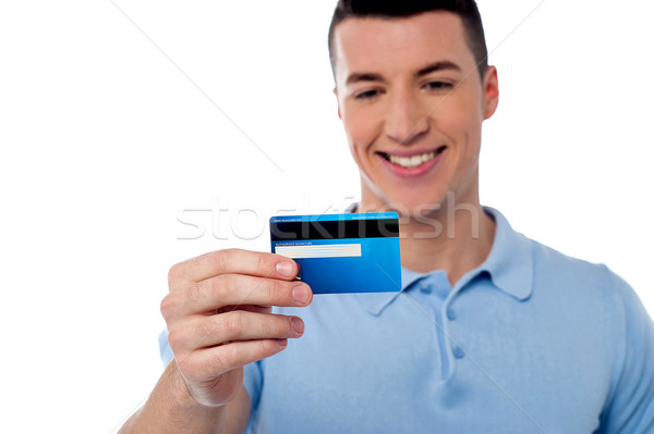 This is my new credit card Stock photo © stockyimages