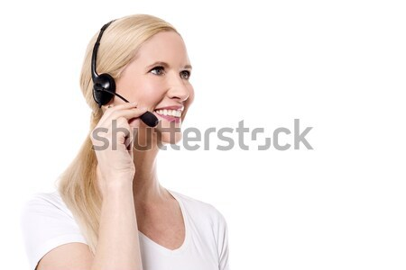 Stock photo: How can I help you ?