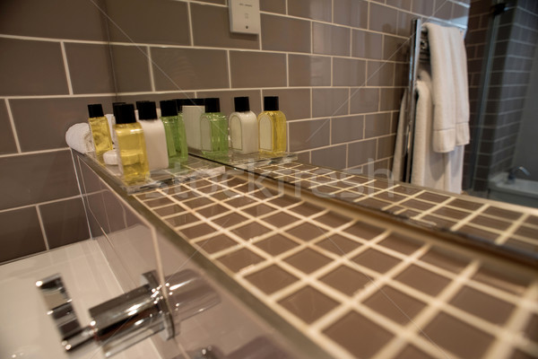 Interior of modrn bathroom Stock photo © stockyimages