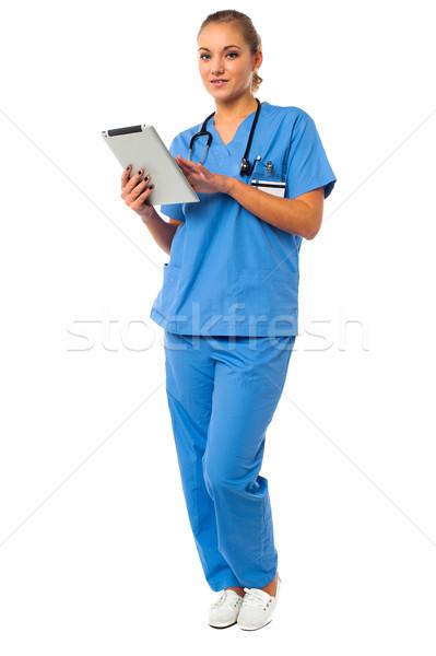 女性 医師 小さな 医療 インターン ストックフォト © stockyimages