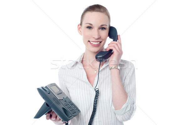 How may i assist you ! Stock photo © stockyimages