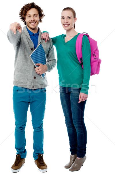 девушки руки Одноклассники плечо позируют Сток-фото © stockyimages