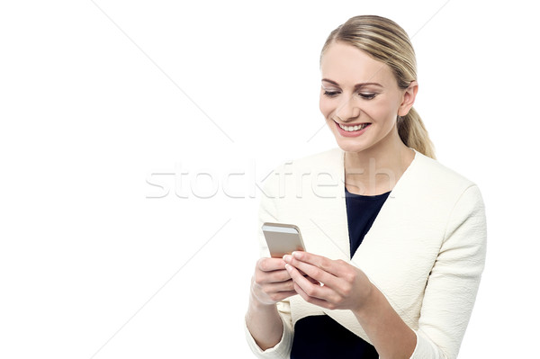 Hi darling, how are you ? Stock photo © stockyimages
