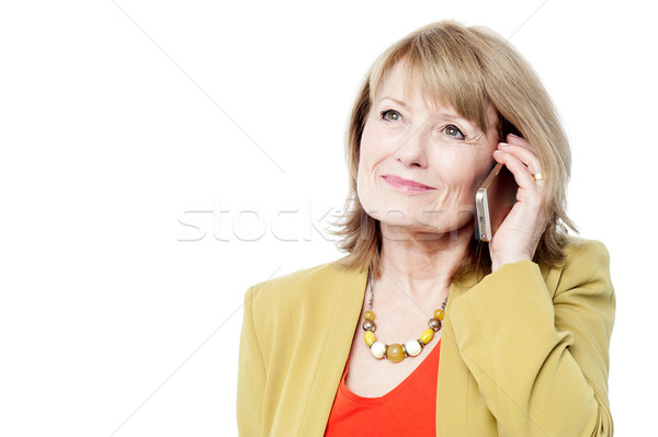 Hello darling, i am ready ! Stock photo © stockyimages
